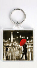 PARIS KISS KEYRING GIFT LLAVERO REGALO