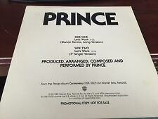 "PRINCE LET'S WORK  12"" 1986 WARNER PRO-A-1004 SUPER RARE"