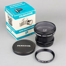PANAGOR *SEMI-FISHEYE* (0.42x) ATTACHMENT LENS + 52mm SERIES VII ADAPTER RING