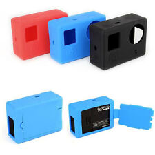 Soft Silicone Gel Rubber Protective Case Skin Cover For GoPro Hero 3 Plus 4 Came
