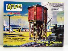 """ATLAS HO U/A """"WATER TOWER"""" PLASTIC MODEL KIT #703"""