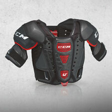 "New CCM Crazy Light U+ CL ice hockey shoulder pads Junior Medium M chest 28""-32"""