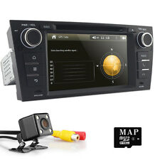 "CAM+ 7"" Car Stereo CD DVD GPS Player Navigation BT Touch Radio E for BMW E90-E93"