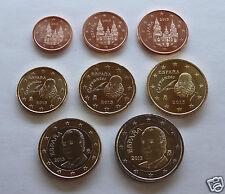 manueduc   ESPAÑA 2009   Las 8 Monedas NUEVAS , NUEVAS