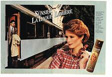 Publicité Advertising 1982 (2 pages) La laque Sunsilk
