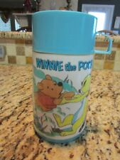 VINTAGE GOOD VERY RARE 1967 WINNIE THE POOH METAL LUNCHBOX THERMOS