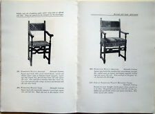 1922 – CATALOGUE OF AN IMPORTANT COLLECTION OF OLD ITALIAN FURNITURE