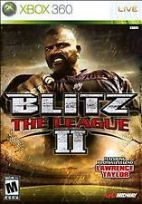 Blitz: The League II  --  Microsoft Xbox 360 Game w/ Artwork In Generic Case 2