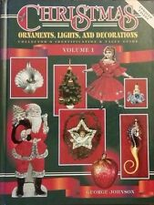 CHRISTMAS MEMORABILIA VALUE GUIDE COLLECTOR'S BOOK Lights Decoration china ++