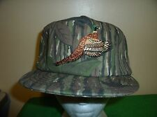 PABST BEER CAMOUFLAGE BIRD HUNTING Baseball Cap Trucker Hat Retro Rare Unique A