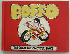BOFFO The Great Motorcycle Race Vintage Children's Parents Magazine Press 1st ED