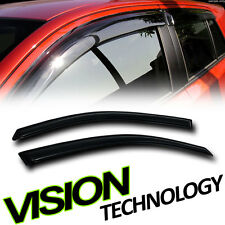 Rain/Wind Vent Shade Deflectors Window Visors 2Pc 00-07 Ford Focus Zx3 Hatchback