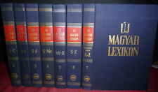Uj Magyar Lexikon, New Hungarian Dictionary, 7 Volumes