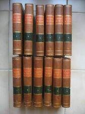Histoire générale de l'Eglise apotres jusqu'à Gregoire XVI  1836 complet 12 vol