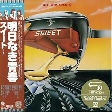 SWEET OFF THE RECORD JAPAN 2016 RMST SHM MLPS CD +1 - NEW FACTORY SEALED!