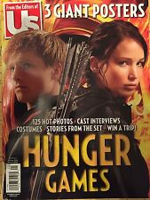 HUNGER GAMES Jennifer Lawrence Josh Hutcherson Us Magazine 3 Giant Posters 2012