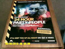 24 HOUR Party People (steve coogan, john simm, ralf little)  Movie Poster A2