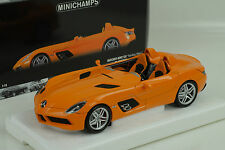 Mercedes-Benz Z199 SLR McLaren Stirling Moss orange 1:18 Minichamps