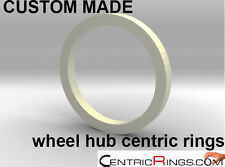 CUSTOM WHEEL HUB CENTRIC (centering) RINGS