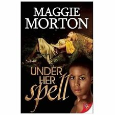 Lesbian Book: UNDER HER SPELL by MAGGIE MORTON, NEW MINT