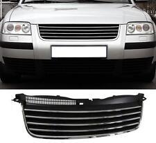 CALANDRE SANS SIGLE NOIRE CHROME VW PASSAT 3BG 2001-2005 CARAT CONFORT SPORT