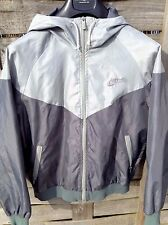 Classic Vintage Nike Windrunner Grey/Silver Nylon Jacket -UK Blue Label- Size L
