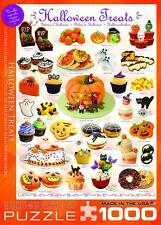 EUROGRAPHICS SWEET LINE JIGSAW PUZZLE HALLOWEEN TREATS 1000 PCS #6000-0432