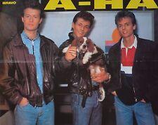 A-HA - A2 Poster (XL - 42 x 55 cm) - Morten Harket AHA Clippings Fan Sammlung