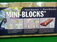 Grodan 1.5 in Starter Mini-Blocks 1.5 in x 1.5 in x 1.5 in 45 per pack