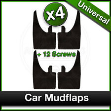 Car FORD FOCUS FIESTA MONDEO GALAXY Universal Rubber MUDFLAPS Mud Flaps SET 4