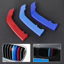M-Color Sport 3D Kidney Grill Grille Bar Cover Trim for BMW 3 Series F30 8 Bars