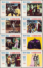 """Poster 8 Lobby Cards The Court Jester 1955 11""""x14"""" VF 7.5 Danny Kaye"""
