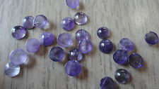 Cabochon Gemstone Amethyst Medium Purple 6mm (pkg 20) Round
