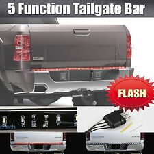 "60"" Flashing Strobe Blinking LED Strip Tailgate Bar Brake Signal Light Truck SUV"