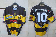 Maillot rugby SCA ALBI porté n°10 LNR match worn shirt moulant collection SMAC