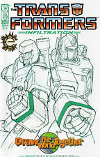 Transformers Infiltration #4(NM)`06 Furman/ Su (Draw The World Together Variant)