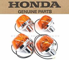 Honda Front and Rear Turn Signals Set CB175 CB350 CB500 CL175 (See Notes) #A10