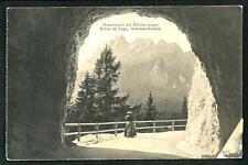 Cortina d'Ampezzo ( Belluno ) : Crepatunnel -  cartolina viaggiata primi '900