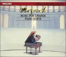 Mozart: Music for 2 Pianos; Piano Duets - Complete Mozart (CD,  2 Discs Philips)