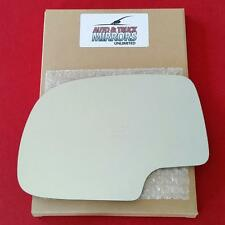NEW Mirror Glass 99-07 CHEVY GMC TRUCK SUV Driver Left Side LH - MANUAL