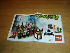 LEGO 3837 MONSTER 4 libro delle istruzioni