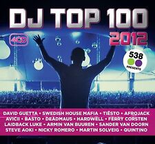 DJ TOP 100 2012    DAVID GUETTA/AVICII/TIESTO/AFROJACK/BOB SINCLAR/+  4 CD NEU