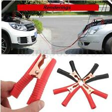 4Pcs 100A Crocodile Pince Agrafe Alligator Voiture Caravane Batterie Test Clips