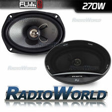 "FLI Underground 6x9"" 270w 2-Way Car Door/Self Speakers Pair FU69"