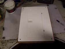 """NEW SQUARE D QOC24UFW LOAD CENTER COVER WHITE 24 CIRCUIT 22"""" X 15-1/2"""""""
