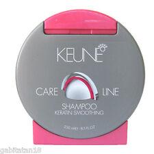 Keune care line keratin smoothing shampoo  250ml / 8.5 oz FREE SHIPPING WORLD