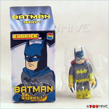 Batman Kubrick Medicom Batman Series 1 figure Batgirl box opened to identify