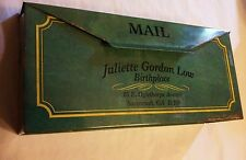 Vintage Juliette Gordon Low Girl Scout Souvenir Birthplace Mailbox Tin