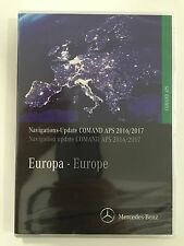 Mercedes-Benz  Navigations-Update COMAND APS  Europa Version 2016/2017  Grün