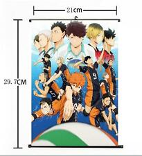 Hot Japan Anime Haikyuu!! Shoyo Hinata Shonen Home Decor Poster Wall Scroll